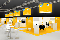 SAP Messestand auf den DSAG Kongress 2015
