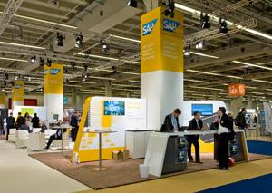 SAP Messestand auf dem DSAG Jahreskongress 2013