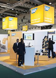 SAP Messestand auf dem DSAG Jahreskongress2015