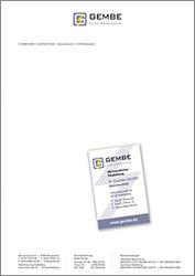 R. Gembe Elektrotechnik GmbH – Geschäftsausstattung